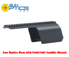 Sun Optics Remington 870/1100/1187 LH/RH 12 Ga Shotgun Saddle Mount