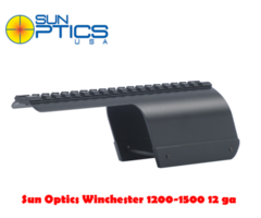 Sun Optics Winchester 1200-1500 12 ga Shotgun Saddle Mount