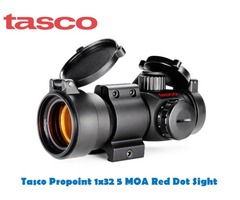 Tasco 1×32 Propoint 5 MOA Red Dot Sight with Rings
