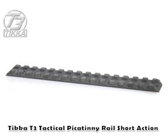 Tikka T3 Tactical Picatinny Rail Short Action