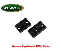Weaver Detachable Top Mount Two Piece Rifle Base