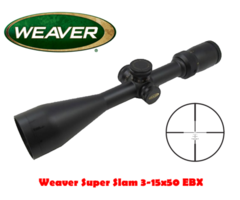 Weaver Super Slam 3-15×50 EBX Riflescope