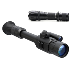 Yukon Photon XT 4.6×42 Night Vision Rifle Scope + Nightmaster NM400 IR Kit