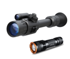 Yukon Photon XT 4.6×42 Night Vision Rifle Scope + Tracer IR 400m Torch