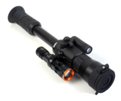 Yukon Photon XT 6.5×50 Digital Night Vision Riflescope + Tracer IR 400m Torch Combo