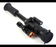 Yukon Photon XT 6.5×50 Digital Night Vision Riflescope + Tracer IR 400m Torch Combo