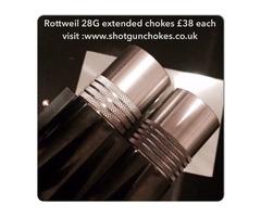 Rottweil 28G chokes