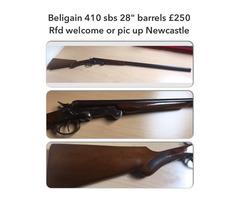 Belgian Sbs .410
