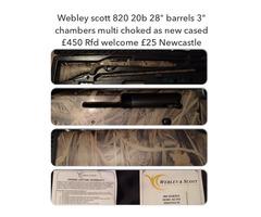 Webley scott 20b
