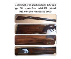 Beretta 686 s special trap 12 bore