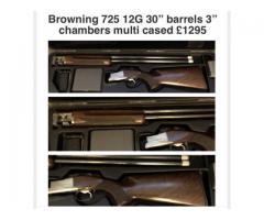 Browning 725 12 bore
