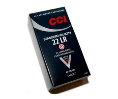 CCI - STANDARD VELOCITY LEAD SOLID 40Gr CODE AMMO 034