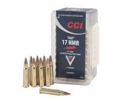 CCI - 17 HMR HOLLOW POINT - CODE AMMO 075
