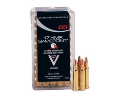 CCI - 17 HMR GAME POINT .20 S/P CODE AMMO 077