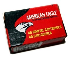 American Eagle .22 Rimfire HV Copper Hollow Point CODE AMMO 083