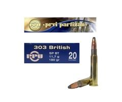 303 BRITISH - FMJ BT- 174 Gr CODE A143