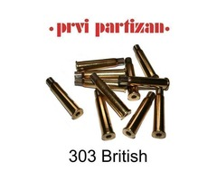 303 British PPU Brass Cases Pack 100 Product Code: C125