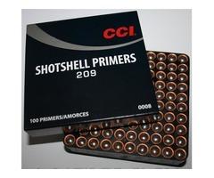 CCI No.209 Shotgun Primers (Pkt.1000) Product Code: 3450