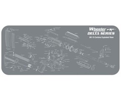 Delta Series AR-15 Cleaning and Maintenance Mat