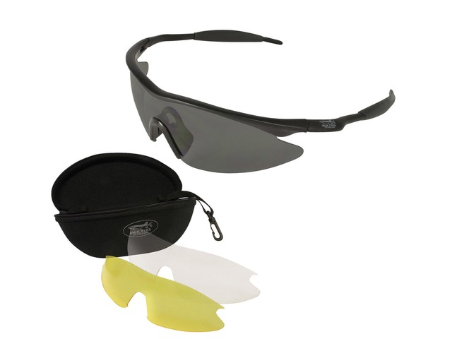 Jack Pyke Pro-Sport Protective Glasses With Changeable Lens JGLAS Shooting