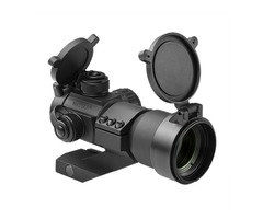 Tactical 35mm Red Green and Blue Dot Sight With Cantilever Weaver Mount NCSTAR