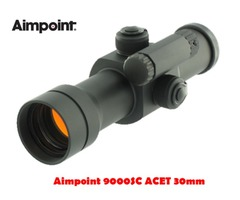 Aimpoint 9000SC ACET 30mm 2 MOA Black Red Dot Sight