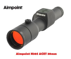 Aimpoint H30S ACET 30mm 2 MOA Black Red Dot Sight