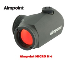 Aimpoint MICRO H-1 2 MOA Black Red Dot Sight
