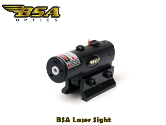 For Sale - BSA Laser Sight includes 3/8″ mount and 5/8