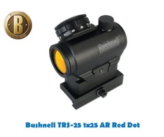 Bushnell AR Optics TRS-25 1×25 Tactical Red Dot Sight with Mount