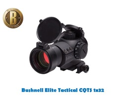 Bushnell Elite Tactical CQTS Precision 1×32 Red Dot Sight