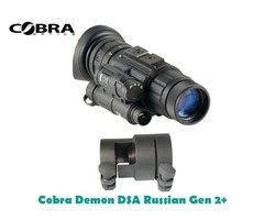 Cobra Demon DSA or HDSA Russian Gen 2+ Night Vision Weapon Scope