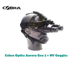 Cobra Optics Aurora Gen 2 + Night Vision Goggles