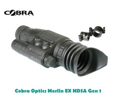 Cobra Optics Merlin EX HDSA Gen 1 Night Vision Weapon Scope