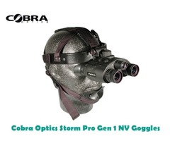 Cobra Optics Storm Pro Gen 1 Night Vision Goggles