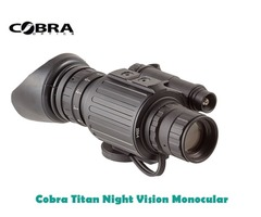 Cobra Optics Titan Gen 2 + Night Vision Monocular
