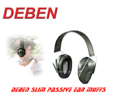 Deben Slim Passive Ear Muffs