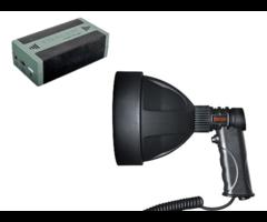 Deben Tracer LED Sport Light 150 12v 4AH Hand Held Lamp Battery Kit