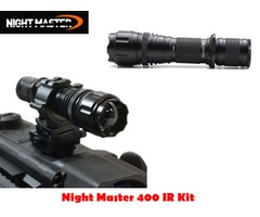 DereeLight Night Master NM400 IR Night Vision Infared Illuminator Kit