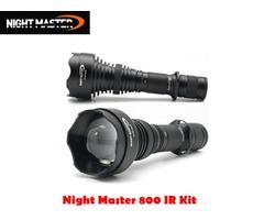 DereeLight Night Master NM800 IR Night Vision Infared Illuminator Kit